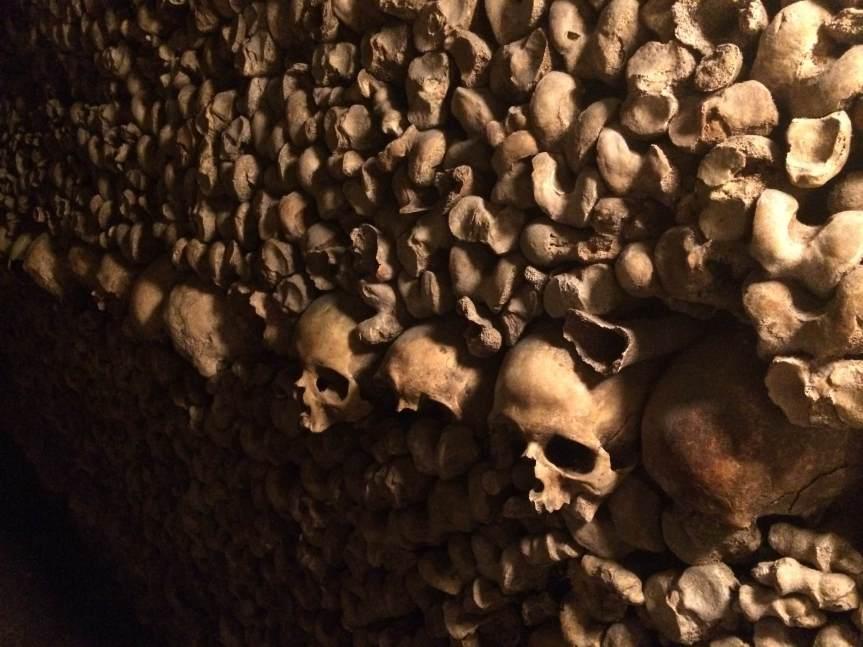 Paris, Les Catacombes & As Above, SoBelow